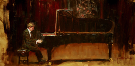 The Recital - 12x24